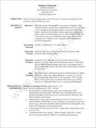 System Administrator Resume Inspirational 25 Admin Resume New
