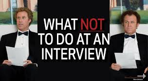 Top 5 Things To Avoid Doing During An Interview Clicks And Clients