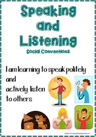Speaking And Listening For Primary School