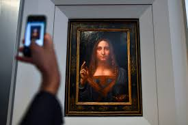 salvator mundi after it was unveiled at christie s in