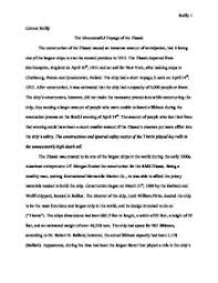 essay titanic sank the sinking of the titanic essays research papers 123helpme com