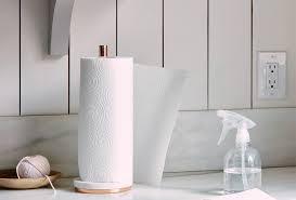marble metal paper towel holder