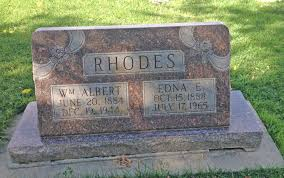 Edna E Carter Rhodes (1888-1965) - Find A Grave Memorial
