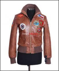las top tan women s short aviator er soft lambskin leather jacket