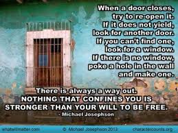 open door es and sayings