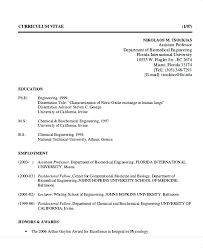 Biomedical Engineer Sample Resume Awesome Biomedical Engineering Resume Samples Amere