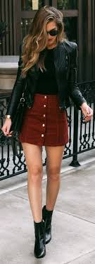 leather jacket outfit idea 1