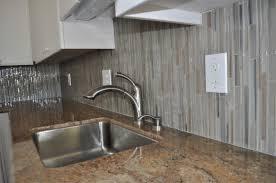 glass kitchen tiles. Living Mesmerizing Grey Glass Kitchen Backsplash 13 Heavenly Picture Of Decoration Using Light Tile Along With Tiles