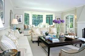 view in gallery living room with bay window small layout how to utilize the space