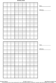 Free Sudoku Grid Pdf 253kb 1 Page S