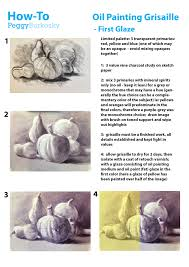 how to oil painting grisaille first glaze
