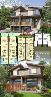 modern multi family house plans new 252 best duplex apartment plans images on of