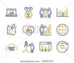 Statistics Symbols Chart Survey Results Quick Vector Photo Free Trial Bigstock