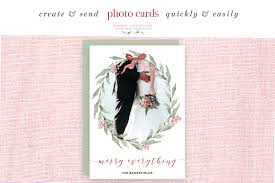 5x7 border template watercolor christmas card template christmas wreath clipart