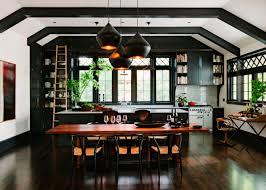 Kitchen Tables Portland Oregon Black Kitchen In Renovated Library In Portland Oregon 4320x3086