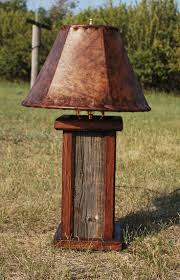 cheap rustic lighting. small barnwood desk lamp with oak trim and rawhide 230 a sample of cheap rustic lighting l