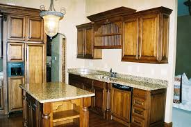 excellent custom kitchen cabinet with marble top