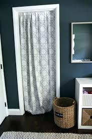 door curtain rod closet curtain rod best closet door curtains ideas on curtain rod closet curtain