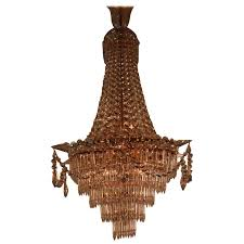 spanish empire style crystal chandelier for