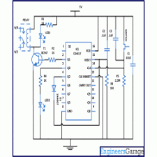 diagram for toggle switch using cd4017 circuit diagram for toggle switch using cd4017