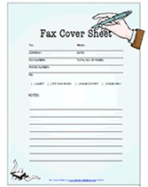 Fax Cover Letter Template Pdf Pdf Download Free Printable Fax Cover Sheets