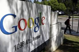 where is google office. FILE - In This June 5, 2014 Photo, A Man Walks Past Google Where Is Google Office