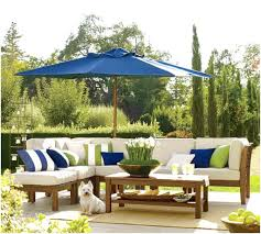 pottery barn outdoor furniture awesome if you can patio umbrellas to protect and shade your