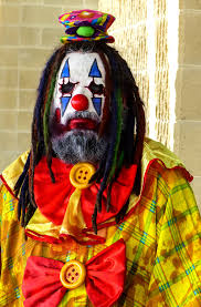 y bearded clown with dreds by j wells s