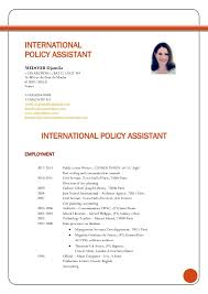 International Curriculum Vitae Resume Format for Overseas Jobs Resume Free  Resume Templates Consider the international CV