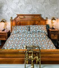 nouveau heron reversible bedding set