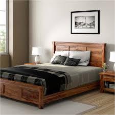 real wood bedroom furniture. modern farmhouse rustic solid wood platform bed real bedroom furniture