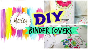 Diy Binder Covers Easy And Affordable Youtube