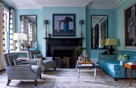 Turquoise Living Room Decor With Grey Shades Mesmerizing Living Room Shades Decor