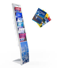 Flyer Display Stands Vision Display Stands Highly Visible Retail Displays Orchard 84