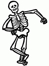 Small Picture Skeleton Coloring Pages Free Large Images Coloring Pages Coloring