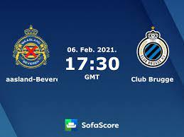 Waasland-Beveren Club Brugge Live Ticker und Live Stream - SofaScore
