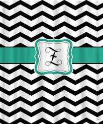 teal chevron shower curtains. Absolutely Smart Black And White Chevron Shower Curtain Items Similar To Personalized Teal Curtains N