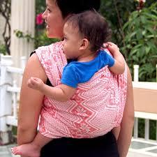 Daiesu Octagram Coral Woven Baby Wrap | Daiesu