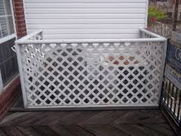 air conditioning covers outside. diy air conditioner cover outside wall lattice flower conditioning covers