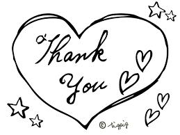 モノトーンのthank Youの手書き文字とハートのイラスト Webデザイン