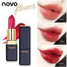 Novo <b>Flower</b> увлажняющая глазурованная губная <b>помада</b> ...