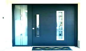 modern entry doors exterior contemporary glass front door post