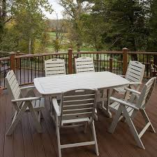 Trex Outdoor Furniture Yacht Club 37 in x 72 in Dining Table