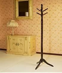 Solid Oak Coat Rack Amazon Frenchi Furniture Wood CoatHat Rack Stand In Oak Finish 51