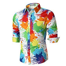 chemise homme funky