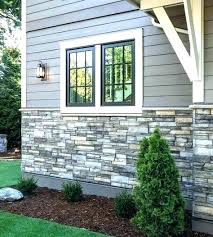 N Fake Brick Siding Modern Exterior Faux Stone Panels Design Ideas Gray  Veneer Cedar For House Mo