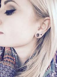 biggest gauge size ear piercing types and styles small gauges piercings and gauges