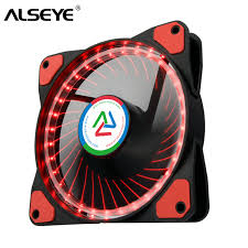 <b>ALSEYE 120mm Fan</b> D4 3pin LED PC <b>Cooling Fan</b> 1100RPM Quiet ...