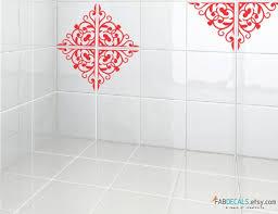 Decorative Tile Stickers Bathroom 100 Vinyl Bathroom Tile Decals Selection Tile Stickers Ideas 2