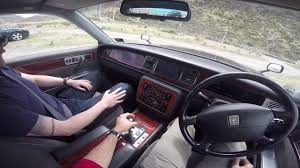 Driving a Toyota Century V12 for the first time - YouTube